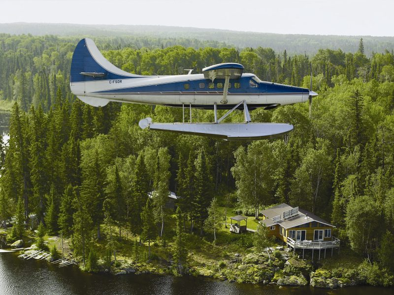 Our aircraft bush pilots nestor falls fly in outposts for Ontario fly in fishing outposts