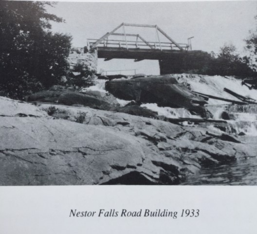 How nestor falls got its name nestor falls fly in outposts for Built by nester